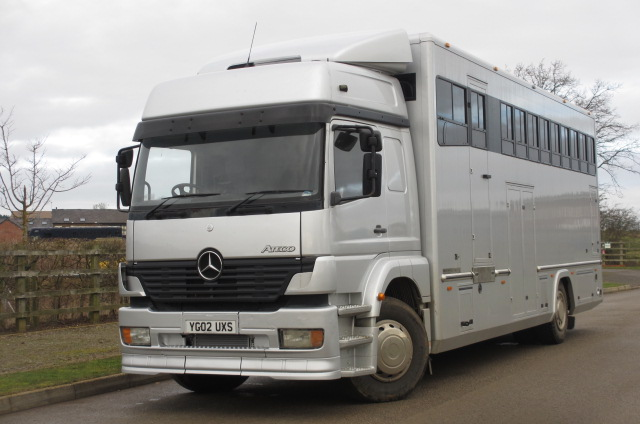 a693ffd0cd9069 2002 Mercedes Benz 1823 Coach built by Quigley coach builders. Stalled for  7 with smart