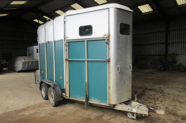 2003 Ifor Williams 510 horse trailer with aluminum floor