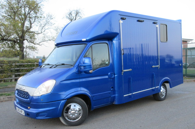 2013 Iveco Daily Coach built by Chaighley. Long stall, New Build. Automatic chassis