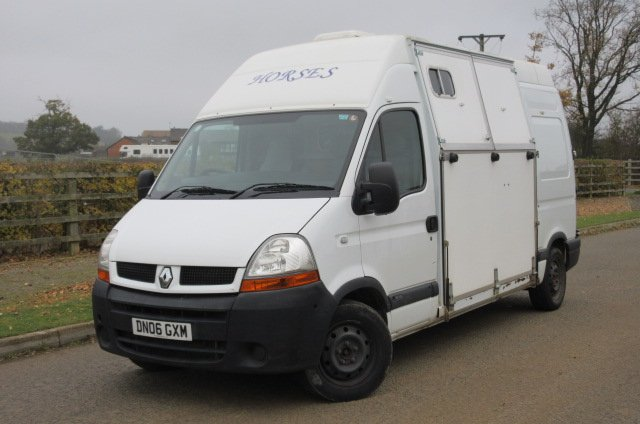 2007 Renault Master Professional Panel Van Conversion Stalled For 2 Rear Facing