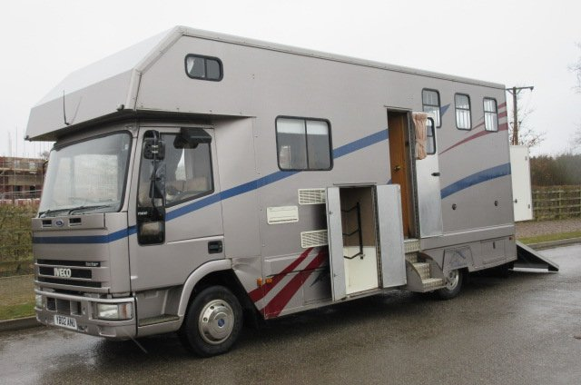 2002  Iveco Eurocargo Tector 170 Coach built by Solitaire. Stalled for 3 with smart luxury living