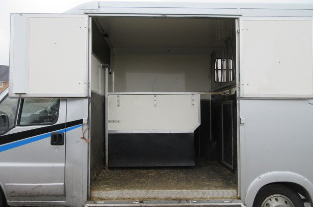 2005 Peugeot Boxer coach built by Chaighley. Stalled for 2 rear facing.