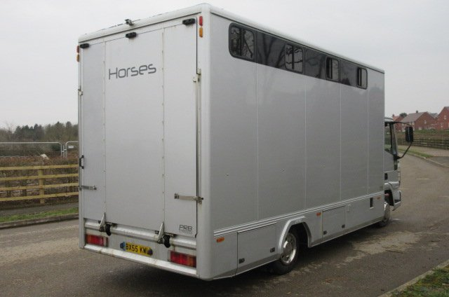 2006 Model Iveco Eurocargo Coach built by PRB Horseboxes. Stalled for 5. Well built strong transport truck