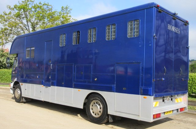 18 Ton Man coach built by David Murray horseboxes. Stalled for 5 with smart luxury living.