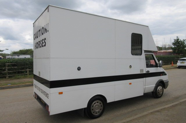 1998 Iveco Daily 4.5 ton Coach built by G.C Smith horseboxes. Stalled for 2 forward facing.. Horsebox from new!