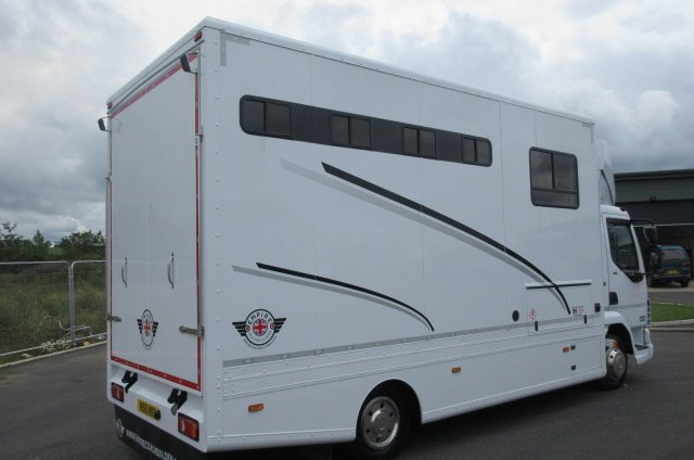 2014  63  DAF LF Empire Classic SE Brand New conversion.. Stalled for 4 with smart living.. Huge spec