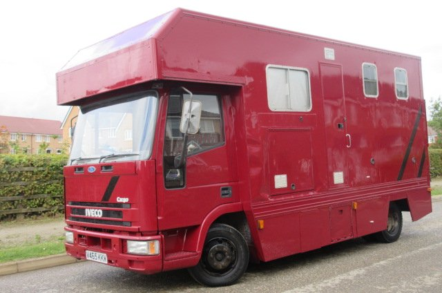 Compact 2000 7.5 Ton Iveco Eurocargo 75E15 Coach built by Wren Stalled for 3 with compact living.