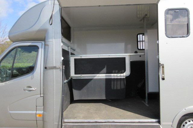 2015 Nissan 3.5 Ton Coach built by J P Horseboxes. Stalled for 2 rear facing. Long stall model. New Build