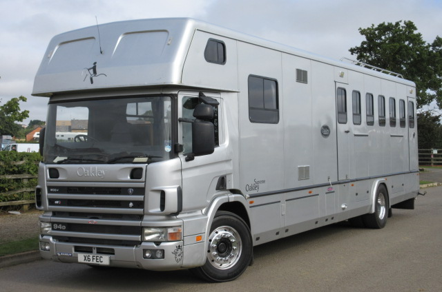 0df7055713 Stunning 18 ton Scania 310 Oakley Supreme. Stalled for 6 with full luxury  living.