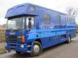 1995 Model DAF 75 300 Oakley Supreme 18 ton. Stalled for 6/7 with full luxury living. Side and rear ramp