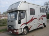 Iveco Eurocargo 75E15 Coach built by Regent horseboxes. Stalled for 3 with smart living