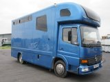 2004 Mercedes Benz Atego coach built horsebox. Stalled for 3 with smart luxury living