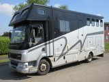 2002 51 DAF LF Coach built by Mc Gary horseboxes. Stalled for 3 with smart luxury living