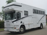 2003 Scania 260 Coach built horsebox. Stalled for 5 with smart luxury living.
