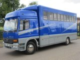 Extremely Smart. 1999 Mercedes Benz Atego 13.5 ton Quighley 5. Stalled for 5 with smart compact day living.