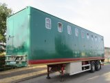 1999 Montracon Artic horse trailer. T S Harker conversion .Stalled for 16 horses. Rear axle rear steer