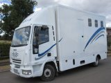 2006 Model 55 Iveco Eurocargo Recent professional conversion. Stalled for 3 with smart changing area