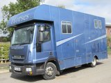 2010 Model Iveco Eurocargo Automatic, coach built by Wren. Stalled for 3 with smart comfortable living. Sold with years MOT and full service ....