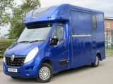 2015 Renault Master coach built by MTC Horseboxes, Stallion model. Full partition. 18,310 miles from new!