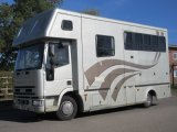 Beautiful JM Coach built horsebox, Stalled for 3 with smart living. Large external tack locker into the living area. Full tilt cab. Low mileage