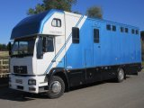 ** NEW PRICE ** Beautiful 14 ton Man Oakley Supreme. Stalled for 6 with smart living. Full tilt cab, Horsebox from new