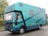 Beautiful Volvo FLC Coach built by Wren horseboxes. Stalled for 3 with smart living.  Mot Oct 2019