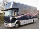 Coach built by Trojun horseboxes, 7.5 ton Renault Midlam. Stalled for 3 with full luxury living. 7.5 ton horsebox with the WOW Factor!