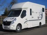 Wagner Anniversary edition crewcab new build on Renault Master 3.5 ton. Stalled for 2 rear facing. 74,400 miles from new.