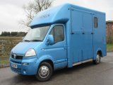 2007 Vauxhall Movano Equi-sport coach build. Stalled for 2 rear facing. Full wall between horse and changing area