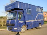 *** DEPOSIT TAKEN *** 2002 DAF LF 150 Coach built by D.H Coach builders. Stalled for 3 with smart comfortable living. Large external tack locker into the living area not the horse area