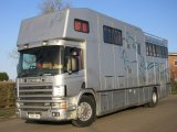 Beautiful 18 ton Scania Coach built by JJ Woods. Stalled for 6 with full luxury living with sleeping for 5 people.