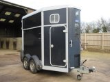 2009 Model Ifor William 506 Model Horse trailer. Stalled for 2 facing forward.. Like NEW!