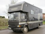 DAF 45 130 Coach built by Mulberry horseboxes, stalled for 3 with smart luxury living.. Full tilt cab