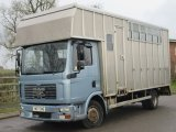 2007 MAN TG Professional Tristar aluminium transport body. Stalled for 4 with smart day/changing area.