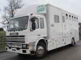 1995 Scania 220 Coach built by Wessexs coach builders. Stalled for 5 with smart living... Well built horsebox