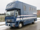 2003 MAN Coach built by Murray horseboxes, stalled for 3 with smart living, Full tilt cab with rear air suspension
