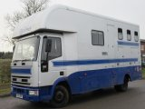 Iveco Eurocargo 75E15 Coach built by Chadwick horseboxes, Stalled for 3 with smart living, sleeping for 4 people.