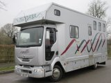 2006 Renault Midlam DCI coach built by Solitaire horseboxes, Stalled for 3 with full luxury living. 47,480 kms from new!