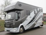 Beautiful 2011 DAF LF Automatic Coach built by Solitaire horseboxes, stalled for 3 with full luxury living. LIKE NEW!