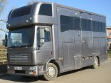 2005 MAN TG Recent coach build by Quighley horseboxes, Stalled for 5 with side and rear ramp. Smart compact living. Beautiful truck