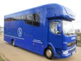 12 ton 2006 DAF LF Coach built by Empire coach builders. Stalled for 4 with full luxury living. Sleeping for 6 people