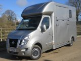 2012 Nissan F35 New Select long stall New Build. Full wall between horse and changing area