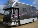 Beautiful 2004 Iveco Eurocargo coach built by PRB Horseboxes, Stalled for 3 with smart luxury living.