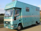 1997 Iveco Eurocargo coach built by Thorpe horseboxes. stalled for 3 with compact living