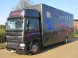 2010 DAF CF Sleeper cab with Professional E.A Transport body. Stalled for 7 with smart changing area
