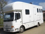 *** DEPOSIT TAKEN *** Elite coach built 7.5 ton horsebox, mounted on 2005 Mercedes Benz automatic chassis. Stalled for 3 with full luxury living