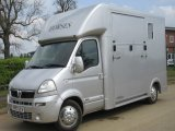 2007 Vauxhall Movano Select Long stall model. Stalled for 2 rear facing. LWB Chassis