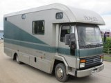 Ford Cargo 813 Coach Built by Ascot horseboxes, stalled for 3 with smart luxury living