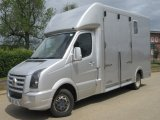 2008 57 Volkswagen Grafter 5.0 ton J P Coach build. Stalled for 2 rear facing... full side ramp