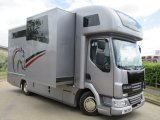 2011 DAF LF Coach built by Elite horseboxes, Stalled for 3 with smart luxury living .. Large slide out..